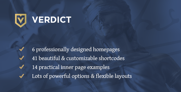 Verdict Wordpress Theme