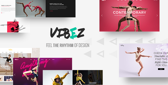 Vibez - Dynamic Theme for Dance Studios and Instructors