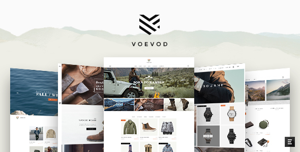 Voevod Wordpress Theme