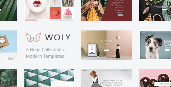 Woly Wordpress Theme