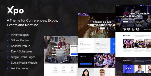 Xpo Wordpress Theme
