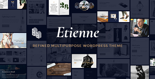 Etienne Wordpress Theme