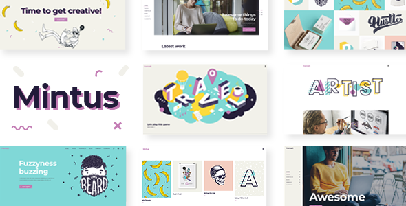 Mintus Wordpress Theme