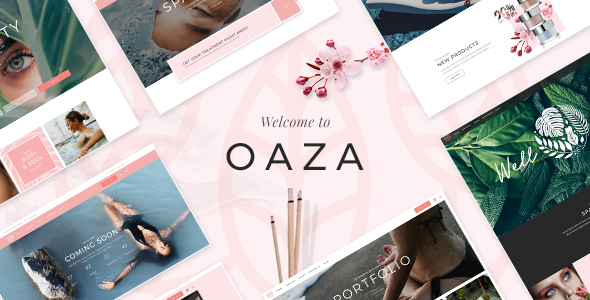 Oaza Wordpress Theme