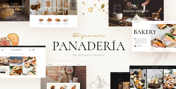 Panaderia WordPress Theme