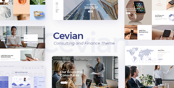 Cevian WordPress Theme