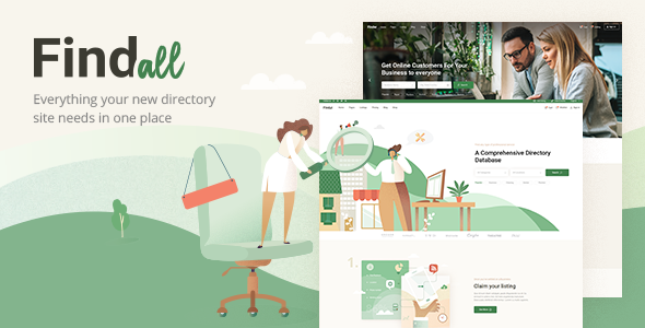 FindAll WordPress Theme