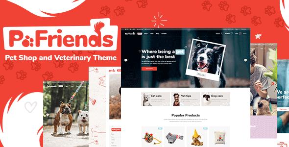 PawFriends WordPress Theme