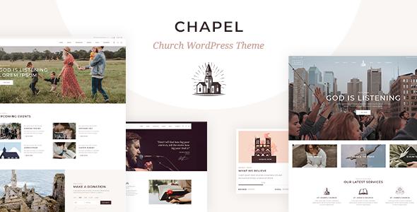 Chapel WordPress Theme