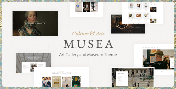 Musea WordPress Theme