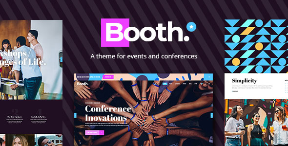 Booth WordPress Theme