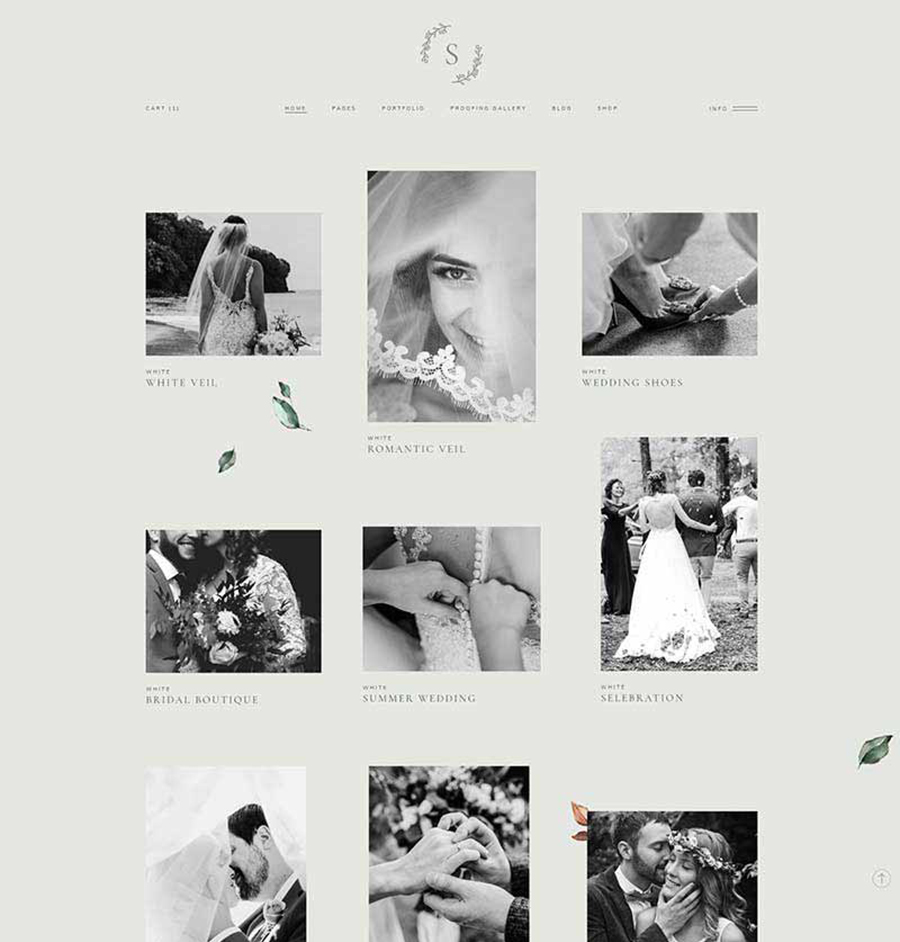 Interactive Wedding Ideas: Wedding Photography Theme