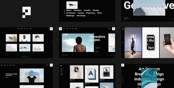 Pearce - Portfolio Theme