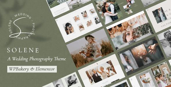 Premium Wedding Photography Wordpress Themes Qode Interactive
