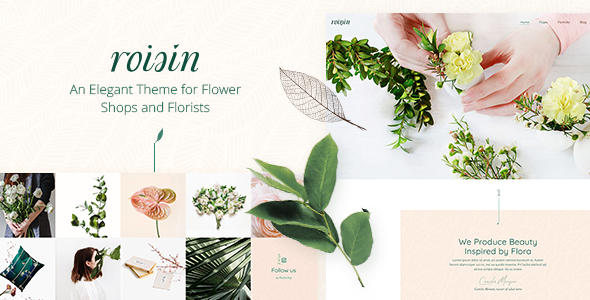 Roisin - Flower Shop and Florist Theme