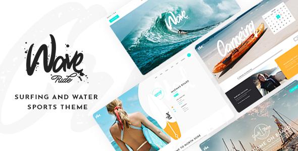 WaveRide WordPress Theme