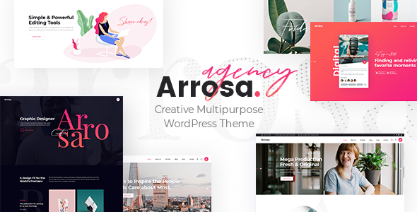 Arrosa WordPress Theme