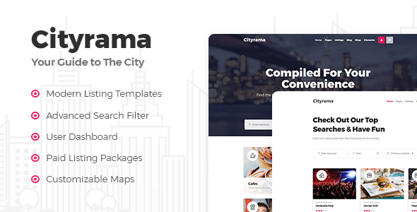 Cytirama WordPress Theme