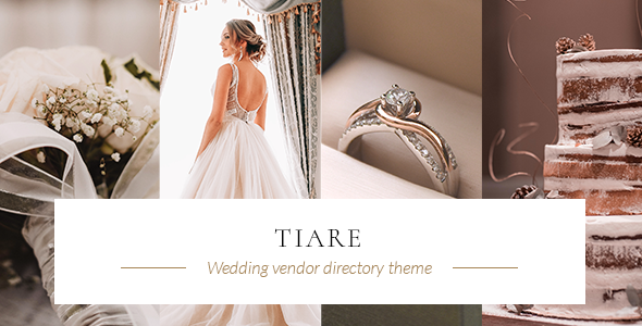 Tiare - Wedding Vendor Directory Theme