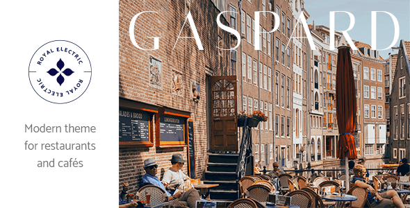 Gaspard WordPress Theme