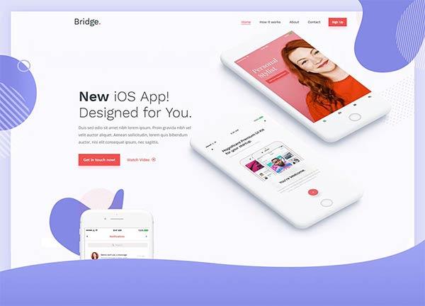 App Launch Bridge Theme Demo