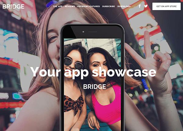 App Showcase Bridge Theme Demo