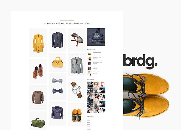Boutique Bridge Theme Demo
