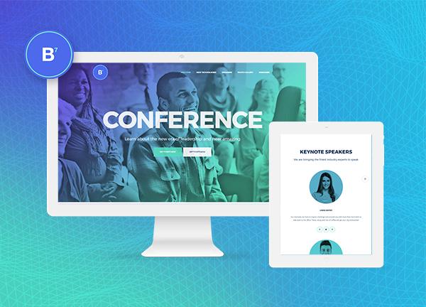 Conference Bridge Theme Demo