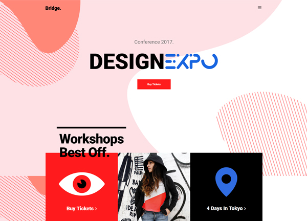 Designer Expo Bridge Theme Demo