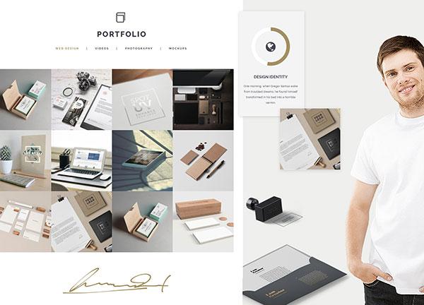 Designer Personal Bridge Theme Demo
