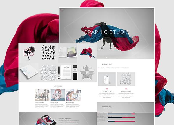 Graphic Studio Bridge Theme Demo