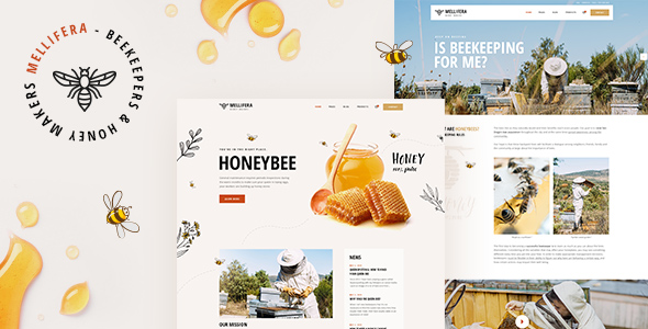 Mellifera - Beekeping and Honey Shop Theme