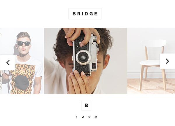 Photo Slider Bridge Theme Demo