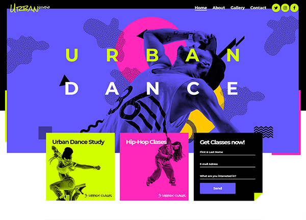 Urban Dance Bridge Theme Demo