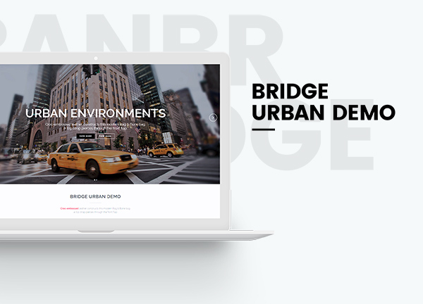 Urban Bridge Theme Demo