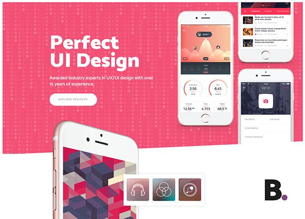 UX/UI Design Bridge Theme Demo