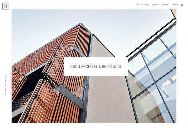 Architectural Firm Bridge Theme Demo