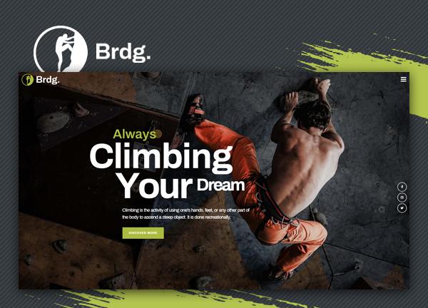 Climbing Club Bridge Theme Demo