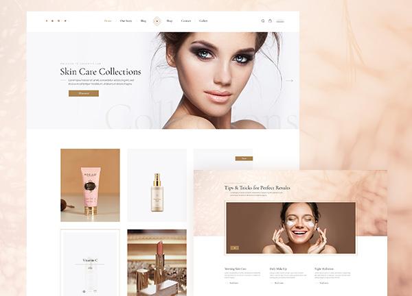 Cosmetics Bridge Theme Demo