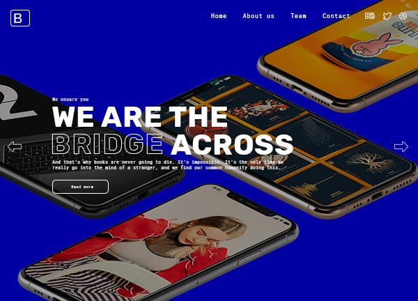 Design Agency Bridge Theme Demo