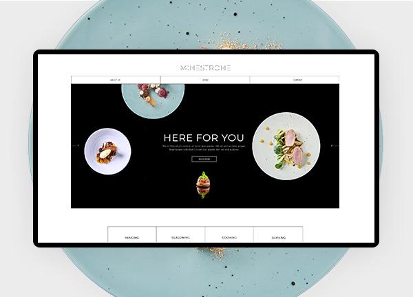 Fine Dining Restaurant Bridge Theme Demo