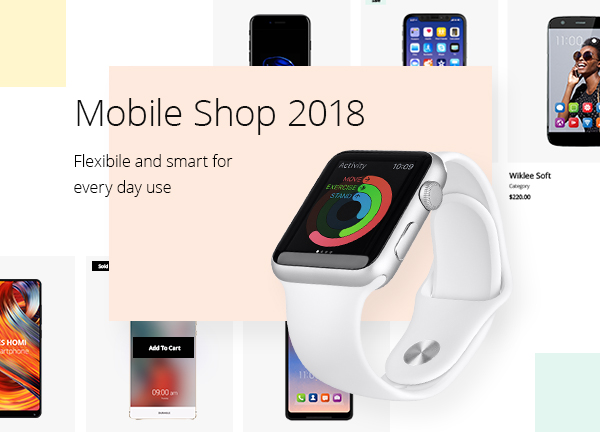Smartphone Store Bridge Theme Demo