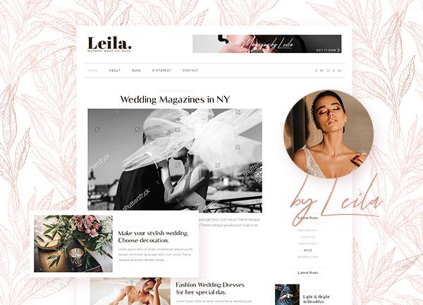 Wedding Blog Bridge Theme Demo