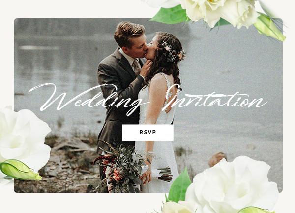 Wedding Invitation Bridge Theme Demo