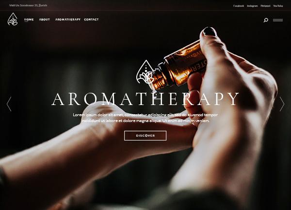 Aromatherapy Bridge Theme Demo