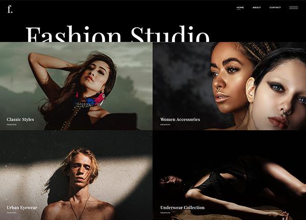Fashion Portfolio Bridge Theme Demo