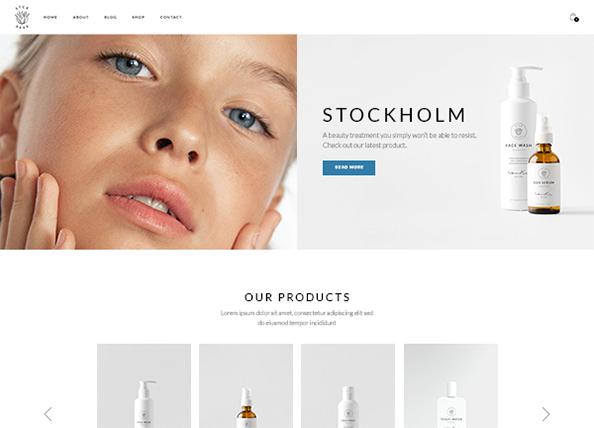 Jonna Stockholm Theme Demo
