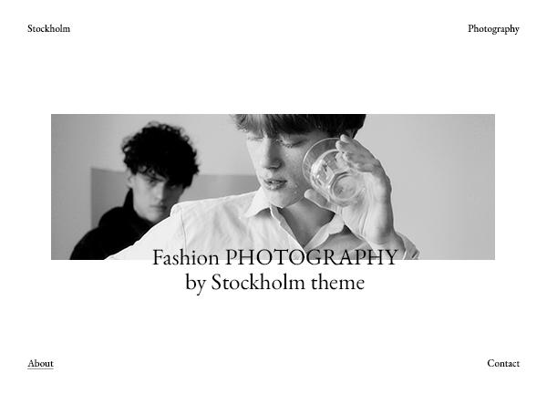 Marius Stockholm Theme Demo