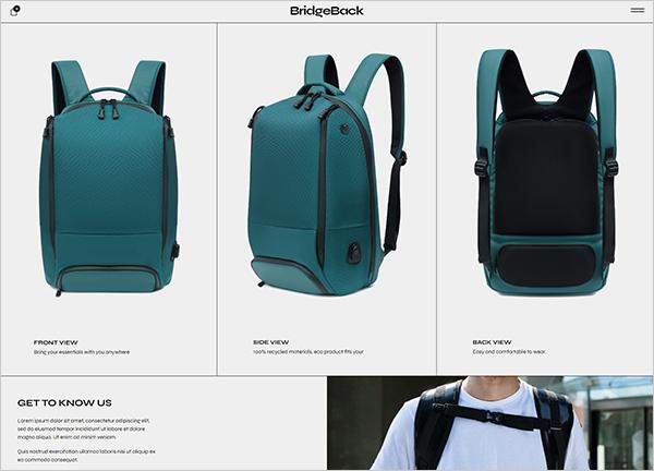 428-backpack-presentation Bridge Theme Demo