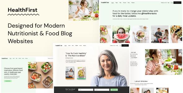 HealthFirst WordPress Theme